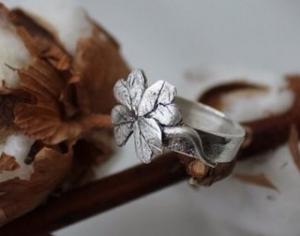 Мастер-класс: Серебряное кольцо из серебряной  глины