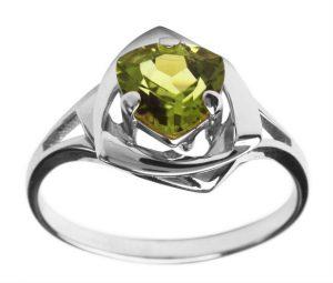 Мастер-класс по изготовлению серебряного кольца с хризолитом